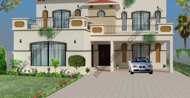 Home Design In Pakistan front elevation of house design in india 3 D Elevations